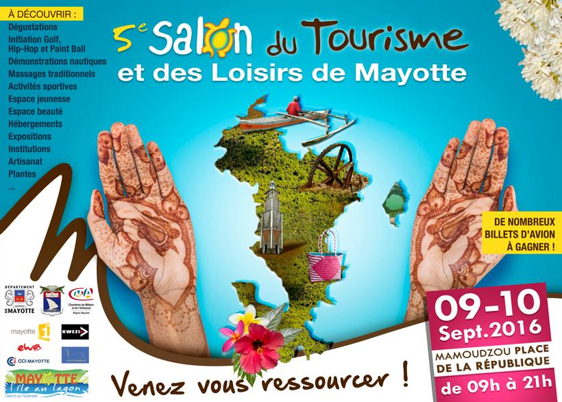 Le salon du tourisme de Mayotte commence vendredi