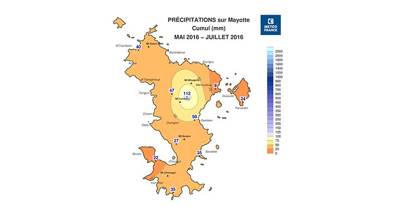 Saison sèche : la 3ème la plus sèche depuis 20 ans