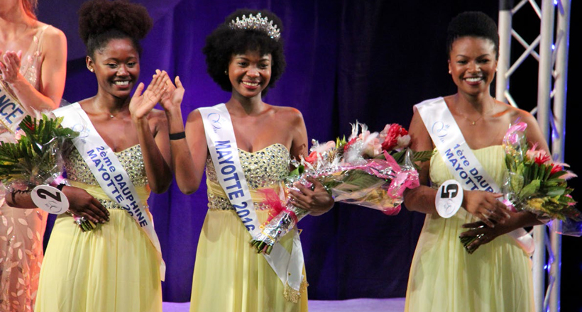 Naïma Madi Mahaladi représentera l'île à Miss France