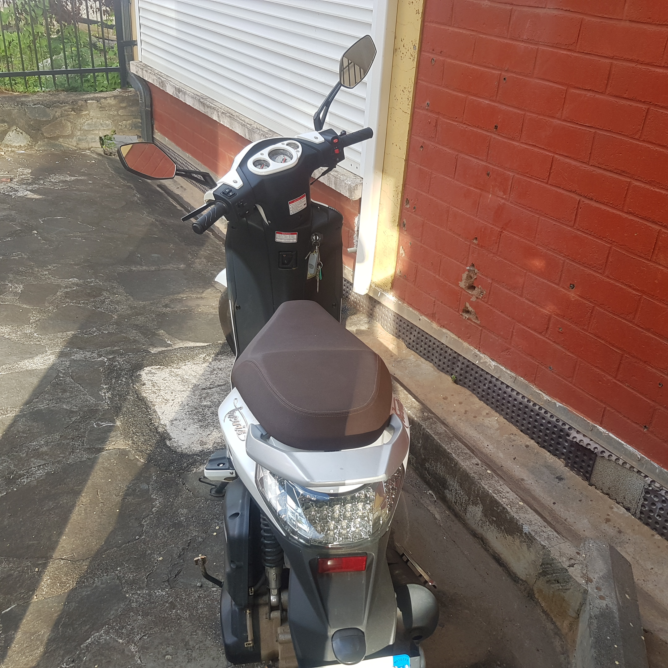 scooter 125 neuf (2 mois)