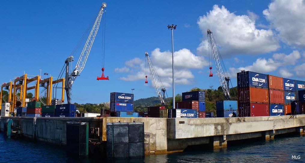 Blocage du port de Longoni