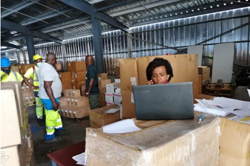 4,2 tonnes de matériel médical pour les soignants libéraux de Mayotte
