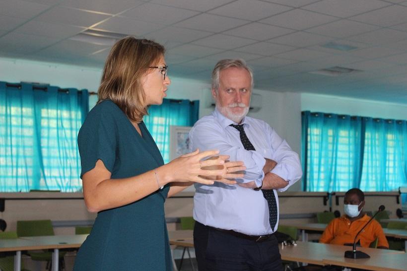 Charlotte Mucig, le nouveau visage du BRGM de Mayotte