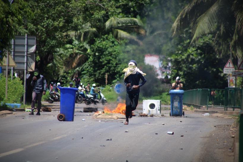 Quand la population mahoraise prépare la riposte