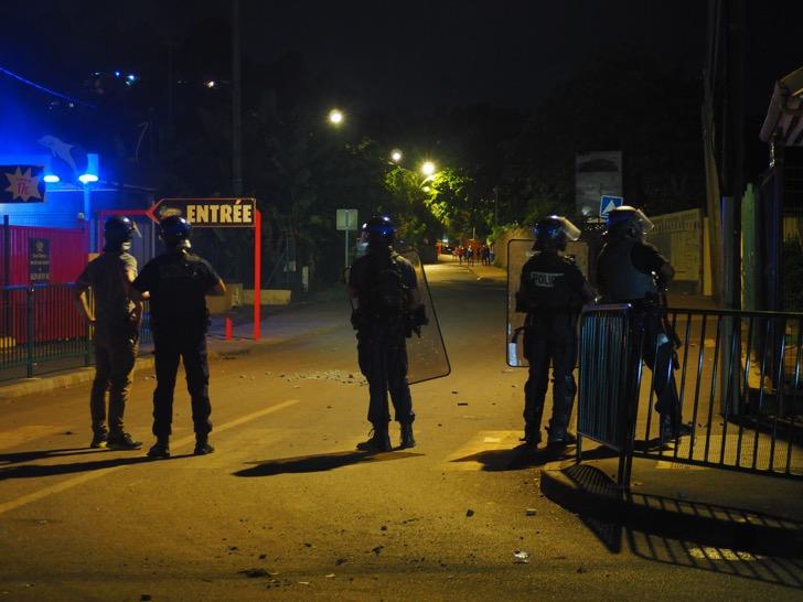 L'accident de la route à Doujani finit en pugilat