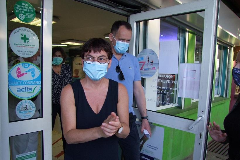 """À la maison de santé de Mamoudzou, """"trois p'tits tours et puis s'en va"""" pour Annick Girardin"""