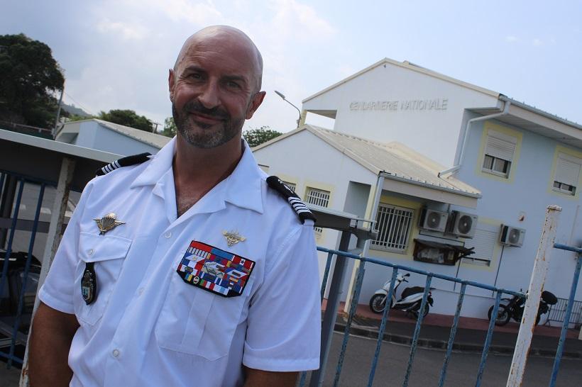 Olivier Capelle, commandant de la gendarmerie de Mayotte, dévoile sa feuille de route