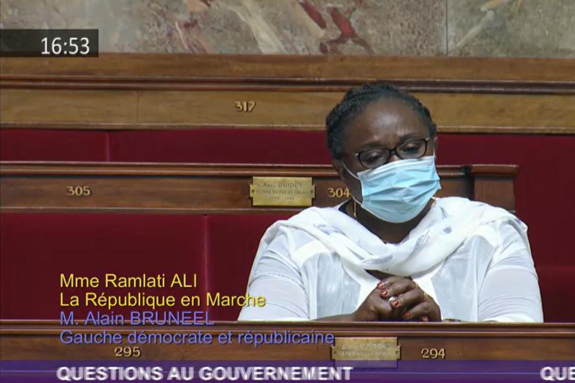 Pour Ramlati Ali, « Mayotte se trouve dans une situation de pourrissement »