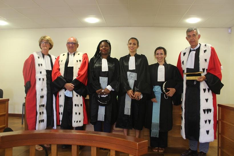 De nouvelles têtes pour une justice en construction à Mayotte
