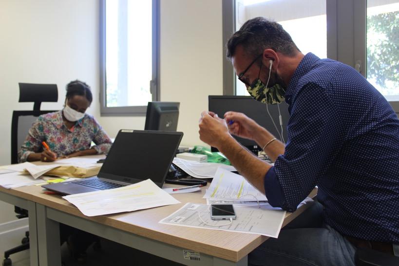 Le contact tracing, le travail de fourmis des enquêteurs et des médecins de l'ARS de Mayotte