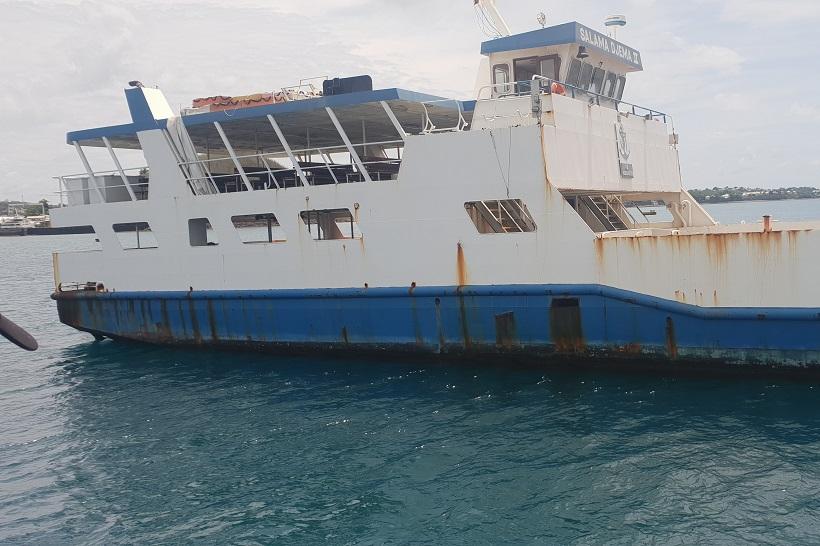 Les Salama Djema et le S 201 partent mouiller à Madagascar