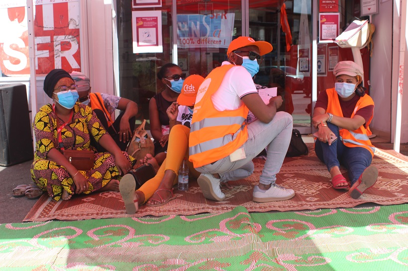 Réseau saturé entre les salariés et la direction de SFR à Mayotte