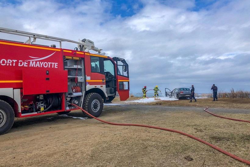 Les sapeurs-pompiers de l'aéroport de Mayotte en grève illimitée