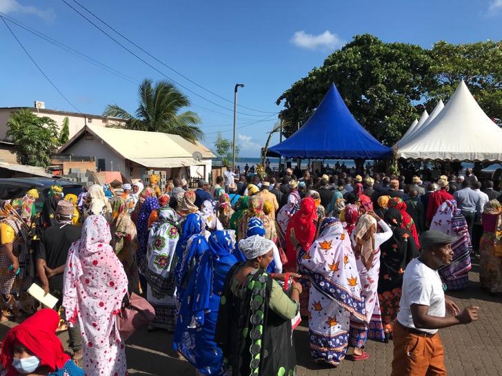 Cérémonies d'investitures hautes en couleurs à Mayotte