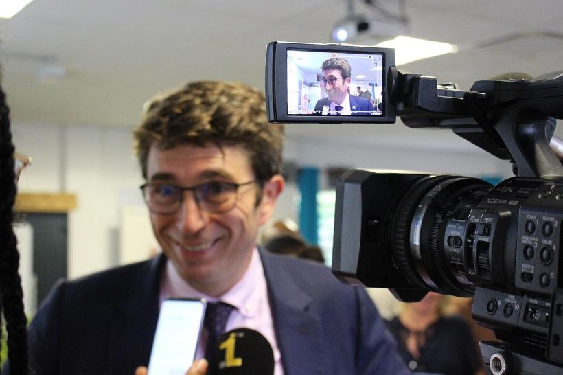 """Gilles Halbout : """"Nous avons beaucoup de volontaires mobilisés à Mayotte"""
