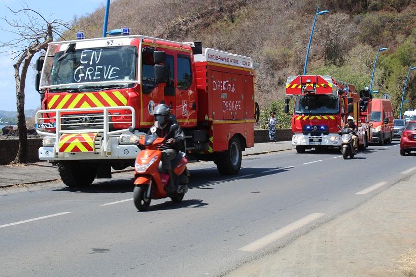 Mayotte : Une rencontre mais pas de sortie de crise pour les pompiers en grève
