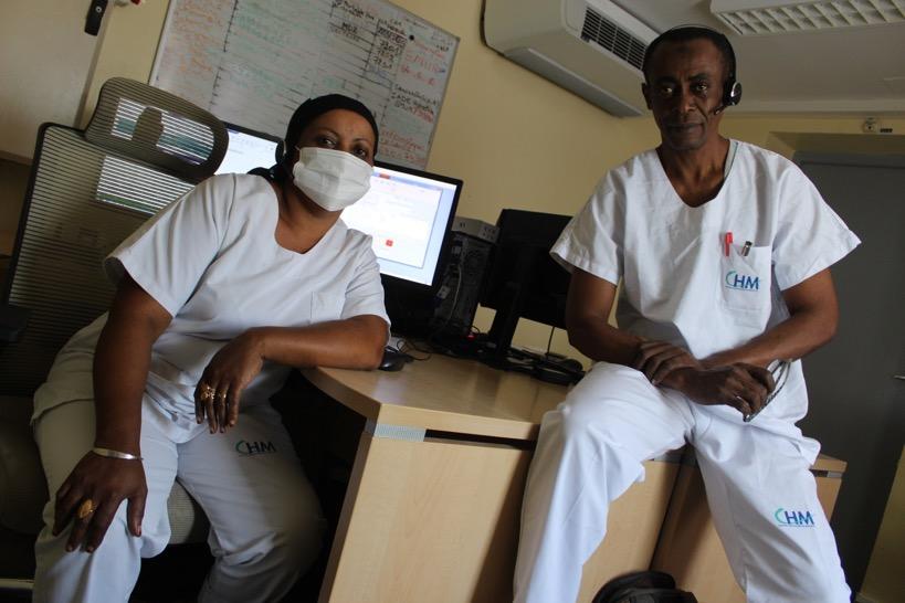 """Le standard du centre hospitalier de Mayotte, """"une véritable plateforme en matière de communication"""""""