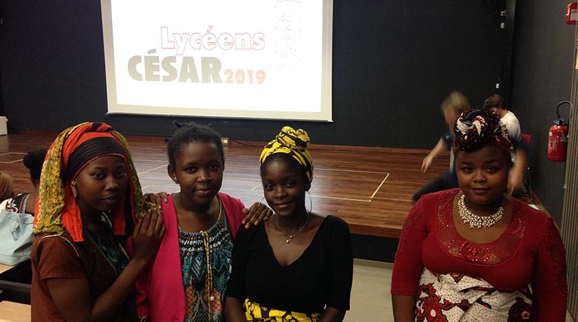 Des lycéens mahorais, jurés aux César