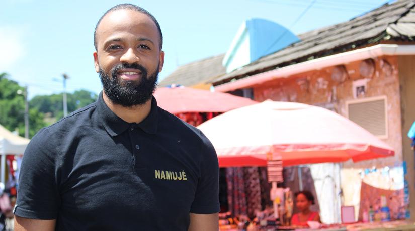 """Hamza Velo: """"Offrir un travail décent aux Anjouanais"""""""