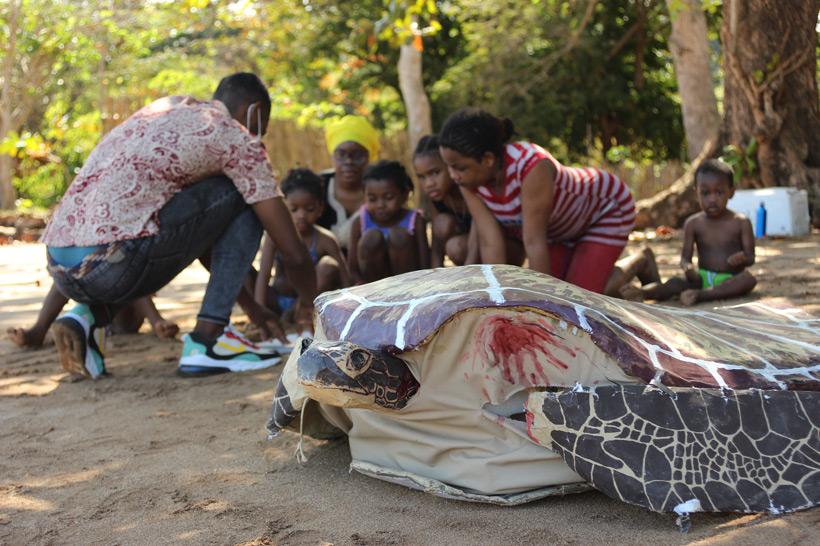 Avec Mayotte Nature Environnement pour une journée de sensibilisation