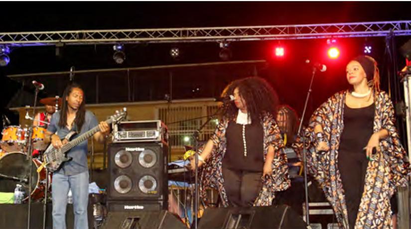 Un show exceptionnel à Combani