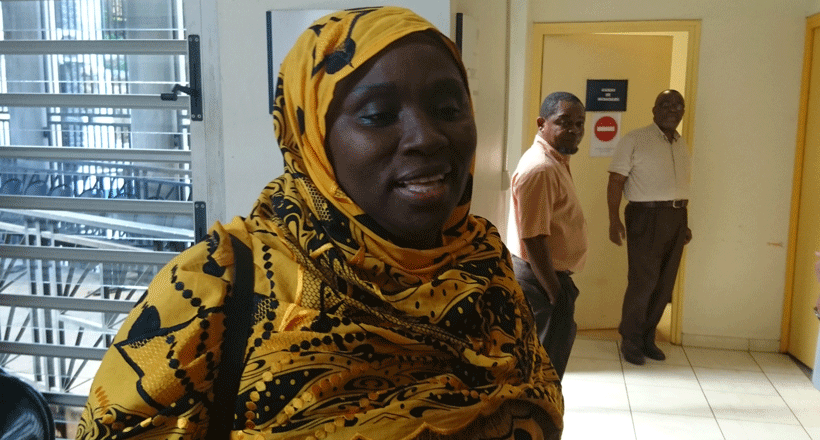 Ramlati Ali reste confiante envers la justice
