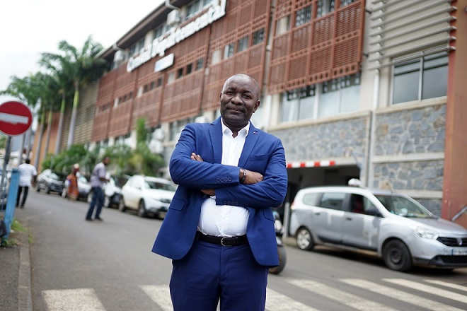 Issa Issa Abdou, vice-président du Conseil départemental en charge des Affaires sociales