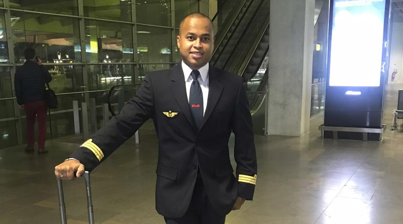 fernand keisler  premier mahorais officier pilote de ligne
