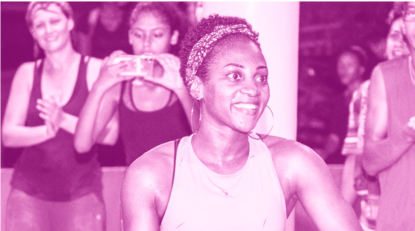 Faïdat Vita, éducatrice sportive, fitness et musculation