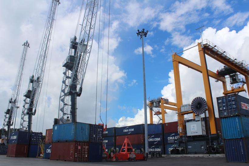 La crise du Covid n'a pas arrangé les affaires du port de Mayotte