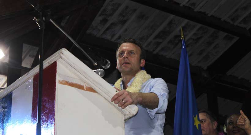 En visite à Mayotte, Emmanuel Macron prône le développement de l'Union des Comores pour sauver Mayotte