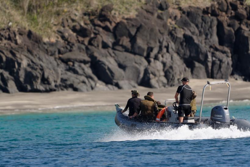 Julien Kerdoncuf, sous-préfet à Mayotte en charge de la lutte contre l'immigration clandestine : « Actuellement, la priorité c'est non pas d'intercepter, mais de refouler »