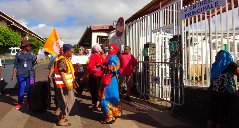 Une partie des agents du CHM en grève illimitée