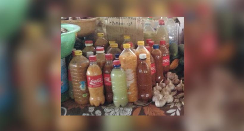Le Codaf interdit les achards, jus et autres piments en bouteille