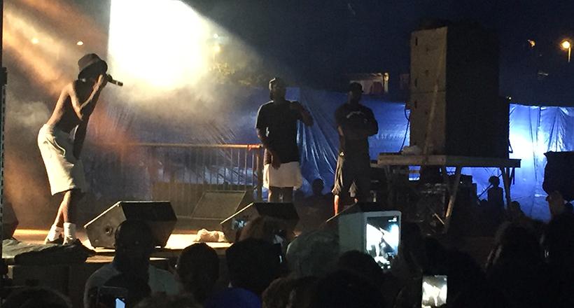 Retour sur le concert de MHD à Mayotte
