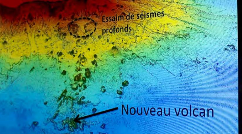 Un volcan sous-marin à 50 kilomètres de Mayotte