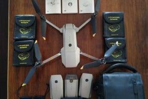 Drone DJI Mavic Pro PLATINIUM + 3 batteries + nombreux accessoires
