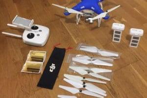 Drone phantom 4k pro