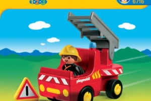 Camion pompier Playmobil 123