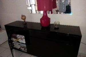Vend commode +table basse+ lampe le tout 330€